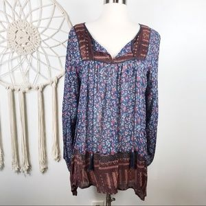 Free People Bohemian Tunic